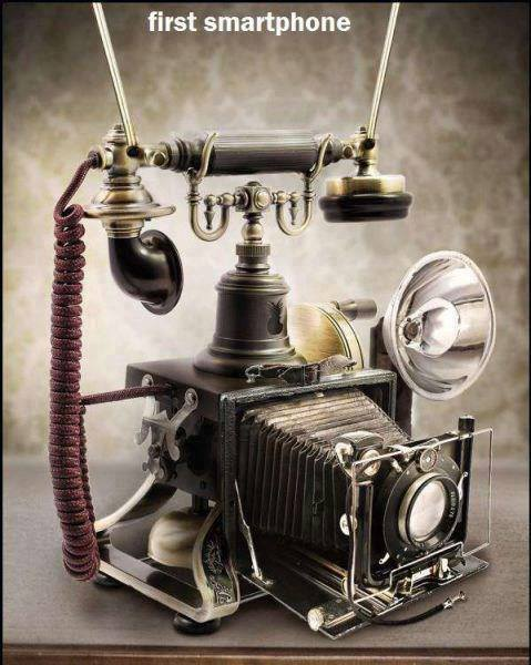 The Worlds First Smart Phone?