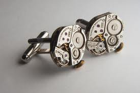 cufflinks steam punk