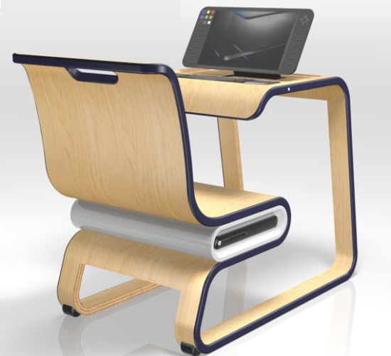 Modern Classroom Desks ~ The layout and design of a modern classroom v education